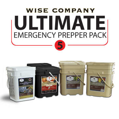 1 Month Ultimate Prepper Pack 2 Adults