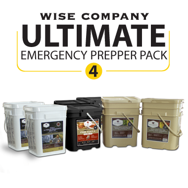 1 Month Ultimate Prepper Pack 4 Adults