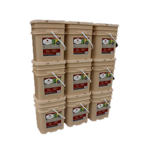 1080 Servings Freeze Dried Vegetable & Sauces