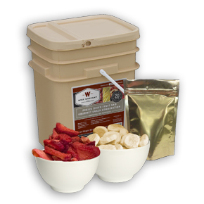 120 Serving Freeze Dried Fruit and Snack Combo Pack