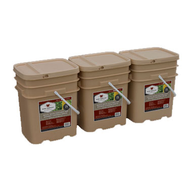 360 Servings Freeze Dried Vegetable & Sauces