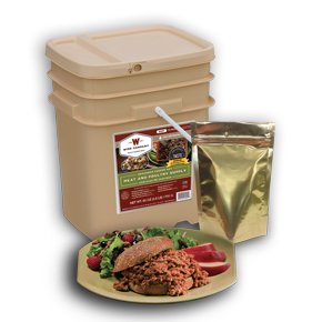 60 Serving Gourmet Freeze Dried Meat Supply