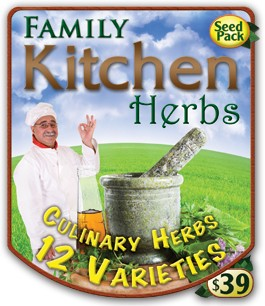 Family Kitchen Herb Pack