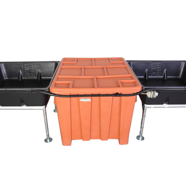 Genesis G 22 Two Media Beds Aquaponics System