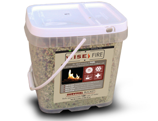 WiseFire 2 Gallon 120 Cup Fuel Source
