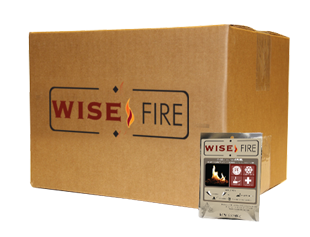 WiseFire Pouches in a Box Boils 60 Cups of Water