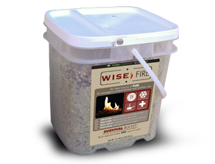 WiseFire 4 Gallon 240 Cup Fuel Source